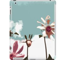 Towering Flowers - Abstract iPad Case/Skin