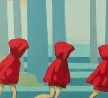 5 Lil Reds I Sticker