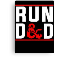 Run D & D Canvas Print