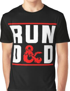 Run D & D Graphic T-Shirt