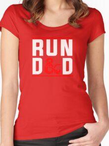 Run D & D Women's Fitted Scoop T-Shirt