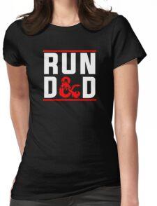 Run D & D Womens Fitted T-Shirt