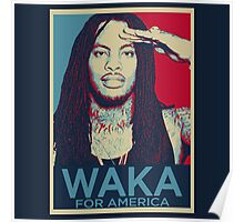 Waka Flocka For President Poster