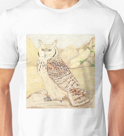 Pharaoh Eagle  Owl Subspecies Unisex T-Shirt