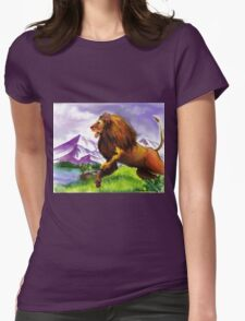 The Great Lion Womens Fitted T-Shirt