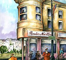 San Francisco 97 - Watercolor Painting by ArtAmerica