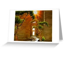 Lost city Greeting Card