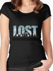 lost cast Women's Fitted Scoop T-Shirt