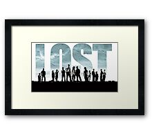 lost cast Framed Print
