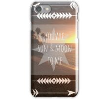 CADIZ W/ SUN & MOON iPhone Case/Skin