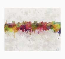South Portland skyline in watercolor background Kids Clothes