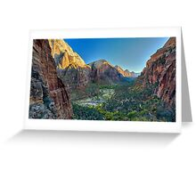 SEXY LANDSCAPE GRAND CANYON  Greeting Card