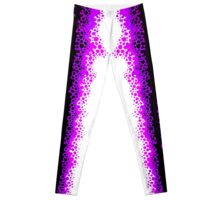 Purple Alien Raver Leggings