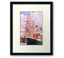 It's All About The Boats Framed Print