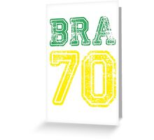 BRAZIL 1970 Greeting Card