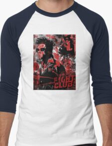 Fight Club Painted Movie Poster T-Shirt