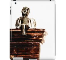 Baxter, guardian of the living room iPad Case/Skin