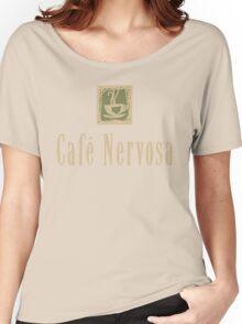 Cafe Nervosa sign – Frasier, Seattle Women's Relaxed Fit T-Shirt