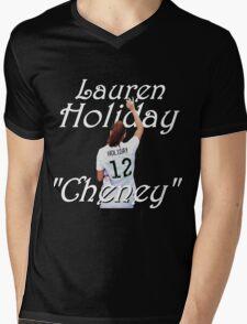 Lauren Holiday Mens V-Neck T-Shirt