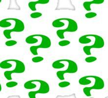 Riddler Question marks Sticker