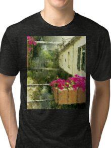 Flowers in la Collobrières France Tri-blend T-Shirt