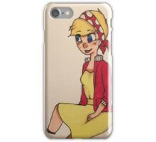 60s doll  iPhone Case/Skin