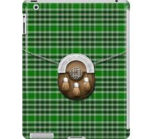 Clan MacDonald Of The Isles Ancient Tartan And Sporran iPad Case/Skin