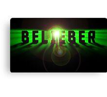 Belieber space logo Canvas Print