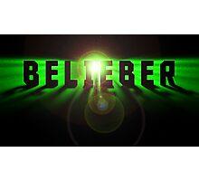 Belieber space logo Photographic Print