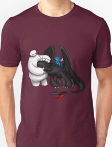 Baymax, toothless and Stitch T-Shirt