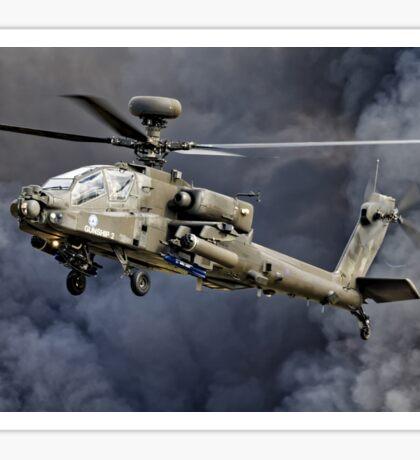 AgustaWestland WAH-64 Apache AH.1 Sticker