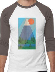 Solitary Mountain Men's Baseball ¾ T-Shirt