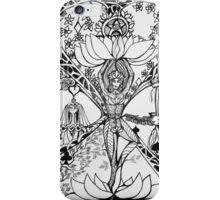 Treepose in tarot style iPhone Case/Skin