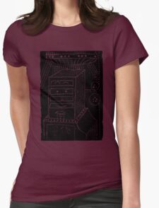 Why does it have roots? - a geometrically artistic interpretation of the future T-Shirt