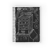 Why does it have roots? - a geometrically artistic interpretation of the future Spiral Notebook