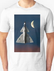 SAAB Viggen and The Moon Unisex T-Shirt