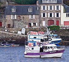 Le Conquet - Le Vieux Port by Jean-Luc Rollier