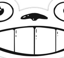 Totoro Smile Sticker