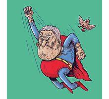 old superman Photographic Print