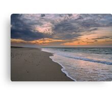 Sunset on Race Point Beach, Cape Cod National Seashore, Massachusetts Canvas Print
