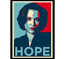 DANA SCULLY HOPE Photographic Print