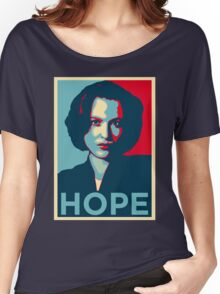 DANA SCULLY HOPE Women's Relaxed Fit T-Shirt