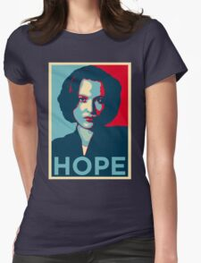 DANA SCULLY HOPE Womens Fitted T-Shirt