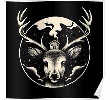 Deer Home Poster