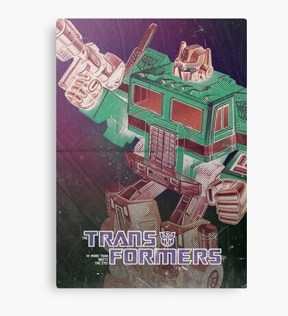 G1 Transformers Poster Canvas Print