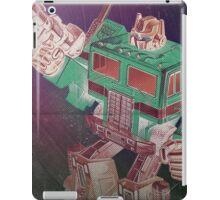 G1 Transformers Poster iPad Case/Skin