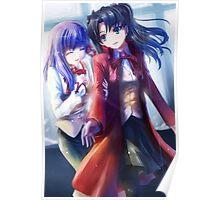 Fate High School Girls Poster