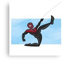 Spider-man- miles morales Canvas Print