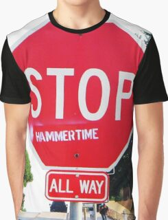 Stop Graphic T-Shirt