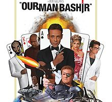 Deep Space 9 - 'Our Man Bashir' James Bond poster by MovingMedia